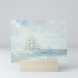 Wild Is The Wind - Cutty Sark - Maritime Painting Mini Art Print