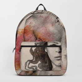 Colony Collapse Disorder (topless warrior woman with leaves on nude breasts) Backpack