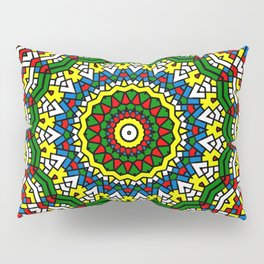 Fun Kaleidoscope Pillow Sham