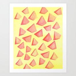 Triangle Mad Art Print