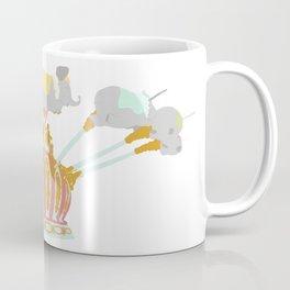 Elephant Flight Coffee Mug