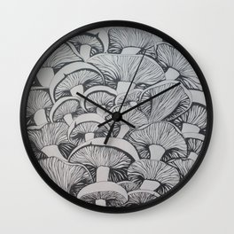 Mush Wall Clock