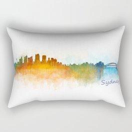 Sydney City Skyline Hq v3 Rectangular Pillow