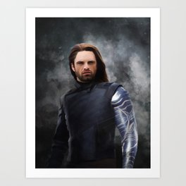 Soldier Winter (Infinity War) Art Print