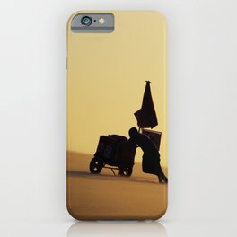 Up the hill iPhone Case