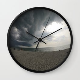 Dark Meets Light Wall Clock