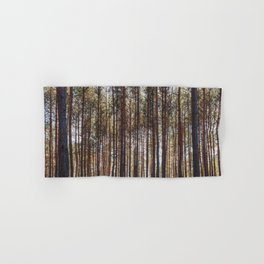 trees in forest photo, tree landscape photography Hand & Bath Towel