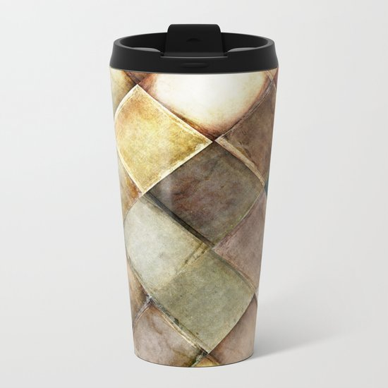 diamond path Metal Travel Mug