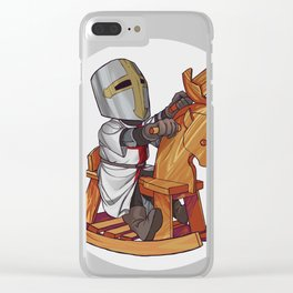 Little Crusader Clear iPhone Case