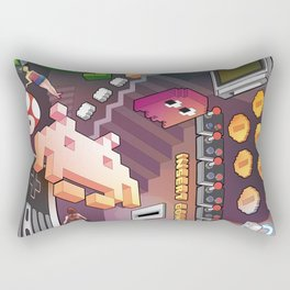 Lost in videogames Rectangular Pillow