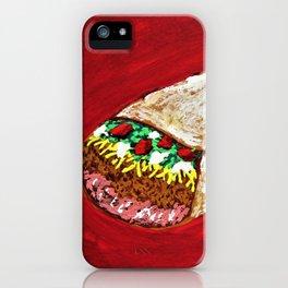 Georgiana's Burrito #287 iPhone Case