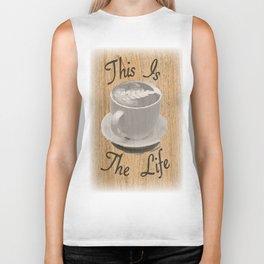 Coffee Is Life Biker Tank