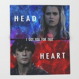 Bellarke Throw Blanket