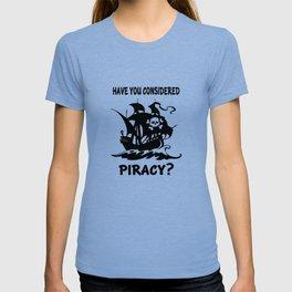Consider Piracy T-shirt