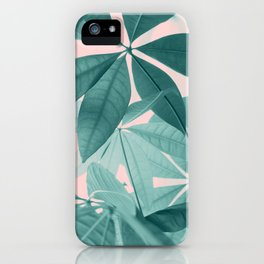 Pachira Aquatica #5 #foliage #decor #art #society6 iPhone Case