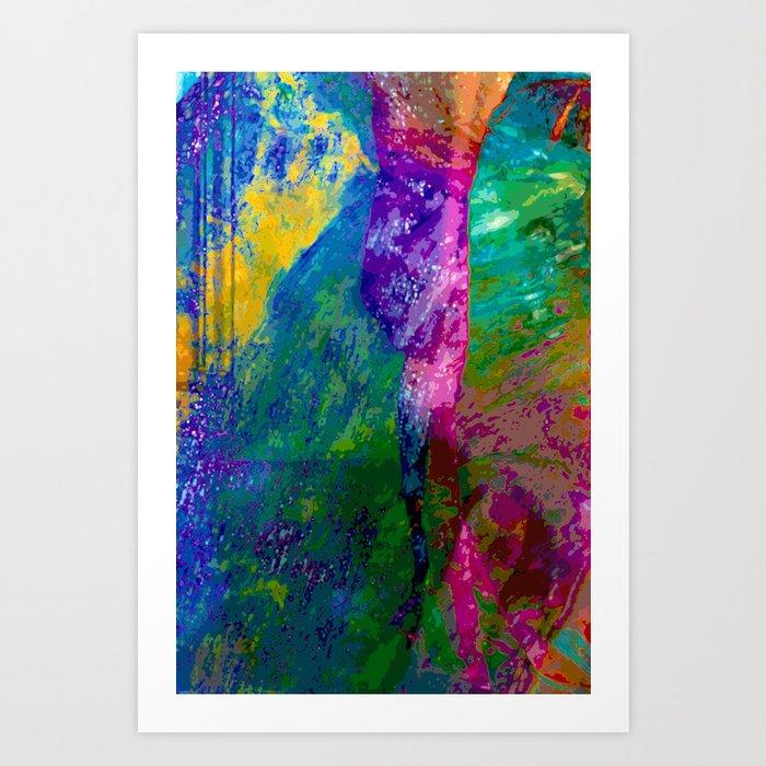 Mind Jungle Art Print