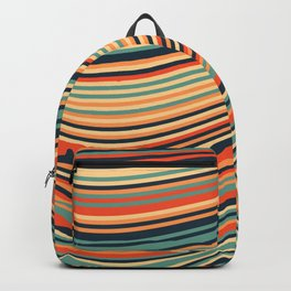 Calm Summer Sea Backpack