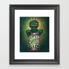 Don't Let The Sunshine Ruin Your Rain Framed Art Print