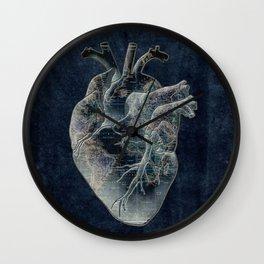 adventure heart-world map 4 Wall Clock