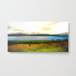 Low lying Clouds Metal Print