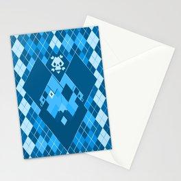 Arrrrrgyle -Blue Stationery Cards