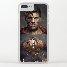 Man of Steel Clear iPhone Case