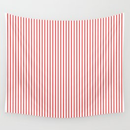 Thin Red Lines Vertical Wall Tapestry