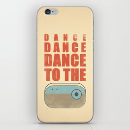 Dance To The Radio! iPhone Skin