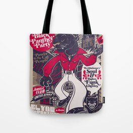 The Black Panther Party Tote Bag