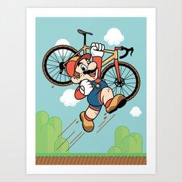 Super Cyclocross Art Print