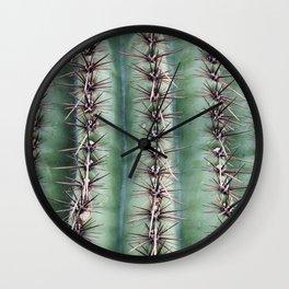 Cactus Abstractus Wall Clock