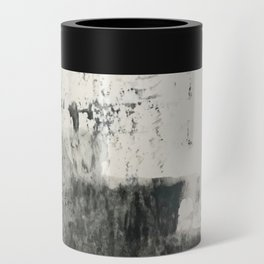 Peace and Quiet [1]: a pretty, minimal abstract piece in gray and peach by Alyssa Hamilton Art Can Cooler