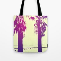 palms Tote Bags featuring Palms by Giuseppe Cristiano