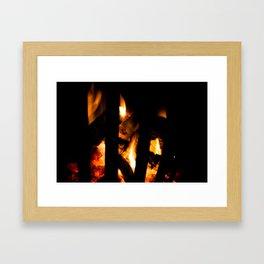 Conflagrant Framed Art Print