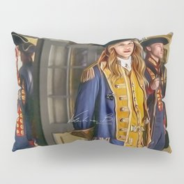 Commodore Kara Zor-El color version Pillow Sham
