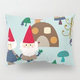 gnome blue Pillow Sham