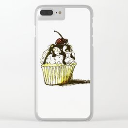 Summer Delight Clear iPhone Case