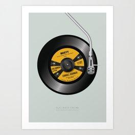 Play Misty For Me - Alternative Movie Poster Art Print