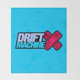 Drift Machine v4 HQvector Throw Blanket
