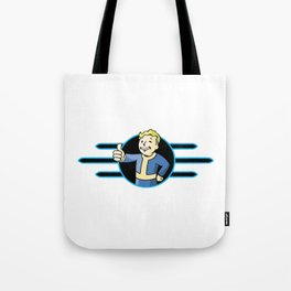 Fallout 4 Vault Boy Thumbs Up Tote Bag