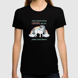 Cute unicorn Arre unicornio T-shirt