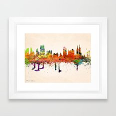 YORK, NEW YORK Framed Art Print