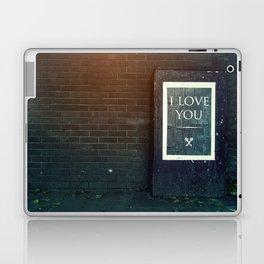 London ILY Sign Laptop & iPad Skin