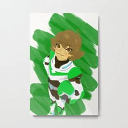 The Green Lion Metal Print