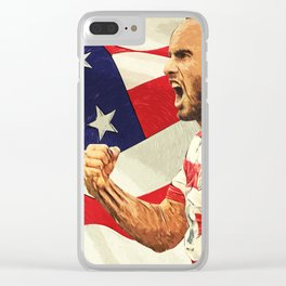 Landon Donovan Clear iPhone Case