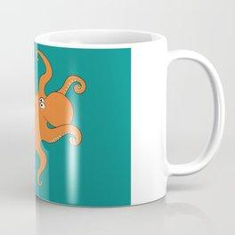 Octopus with Tangled Arms Coffee Mug