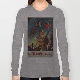 Vintage poster - War Fund Long Sleeve T-shirt