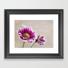 And breathe to them the summer sky Framed Art Print