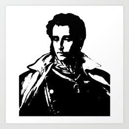 Napo in Black and White Art Print