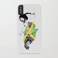 jamaica iPhone & iPod Cases featuring Jamaica -  Freedom Time by Art & Be